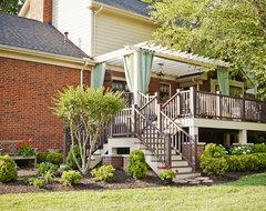 Hunterboro Drive Terrace traditional-patio