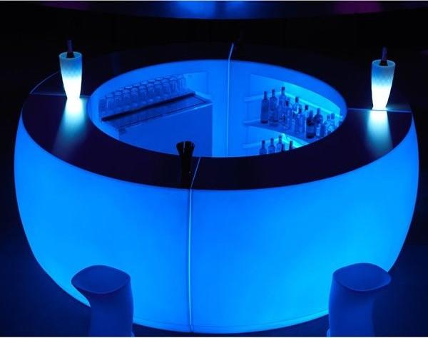 Illuminated Fiesta Outdoor Bar And Stools Outdoor Lounge