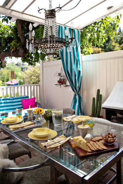Imaginary Beach House (Silverlake) eclectic patio