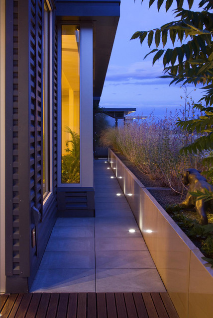 In Floor Lighting Contemporary Patio New York By R