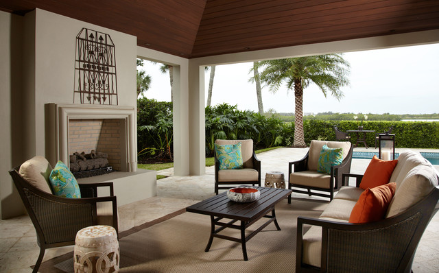 Pineapple House Interior Design · Interior Designers U0026 Decorators. Indian  River Retreat Traditional Patio