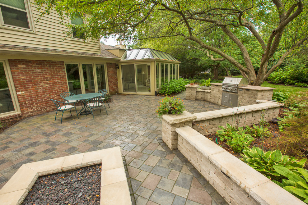 Indianapolis, Indiana - Outdoor Living space - Traditional ...