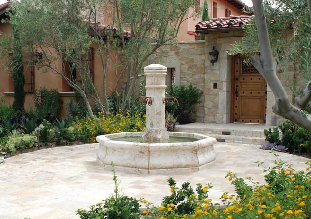 Indoor Courtyards Mediterranean Style Mediterranean