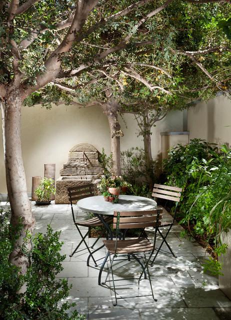 Indoor Courtyards (Mediterranean Style) - Mediterranean ... on Small Mediterranean Patio Ideas id=91333