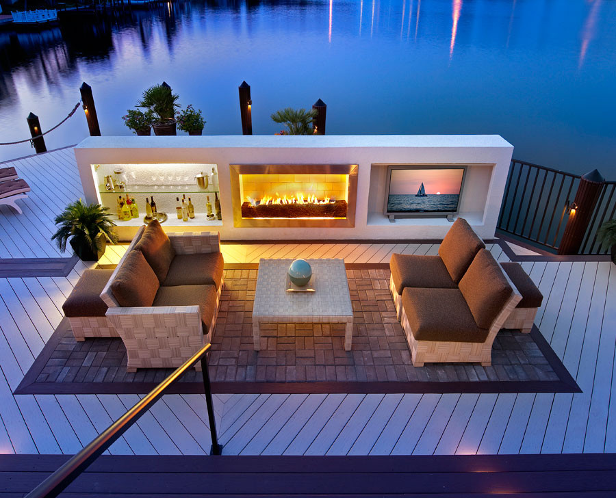 Indoor/Outdoor Living - Contemporary - Patio - Miami - by ... on Ab And Outdoor Living id=40785