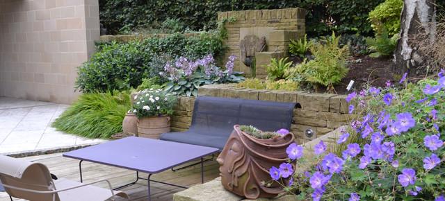 Informal garden harrogate contemporary patio other for Garden design harrogate