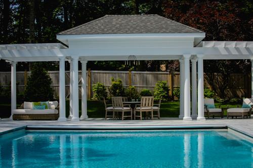 luxury poolside patio furniture