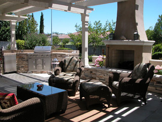 Inside Out - Interior & Exterior Design contemporary patio