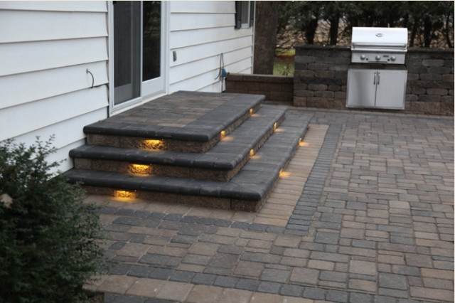 Amazing Inspired LED Outdoor Lighting   Stair Lighting Patio