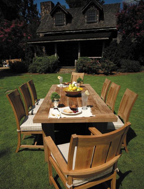 Installations croquet teak collection teak outdoor for Outdoor furniture birmingham al