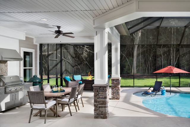 Interior Design Pensacola Florida Model Home 1226 Transitional Patio Tampa By Arthur