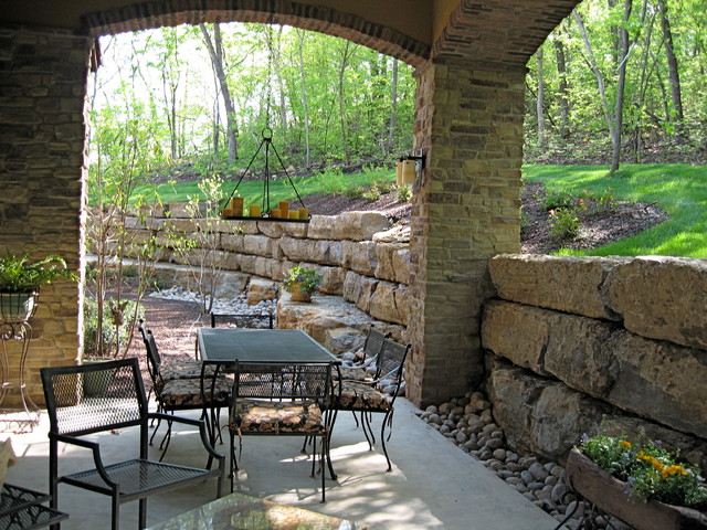Interiors by Jack Fuller Construction, Inc. traditional-patio