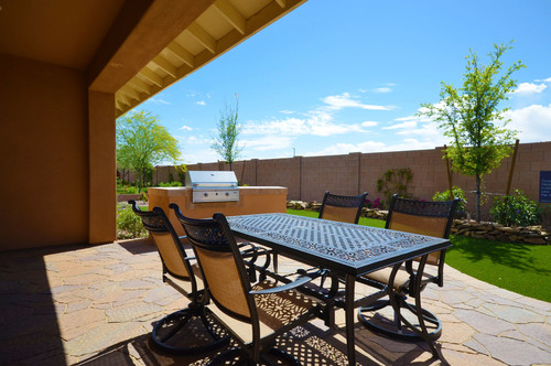 Shea homes patio design, great for bbqs
