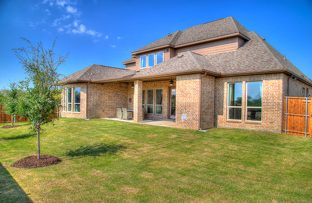 Inverness Floor Plan Traditional Patio Dallas By