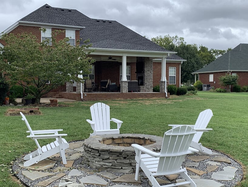Inviting Rutherford County Porch