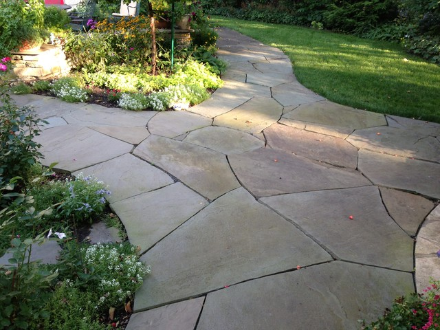 Irregular Bluestone Flagstone In St Paul Minnesota