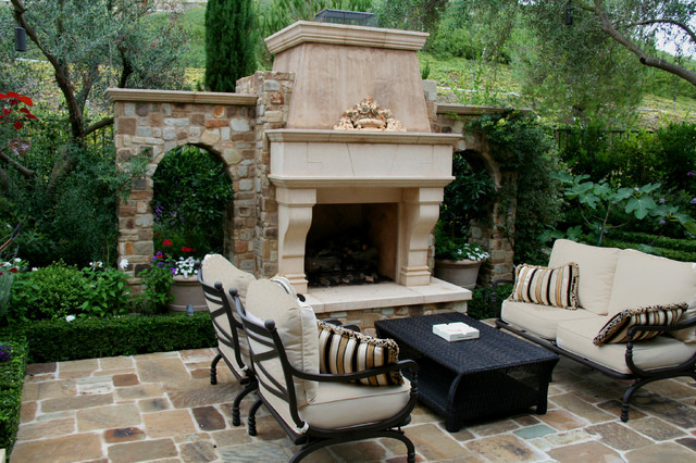 Cozy Fireplaces  patio