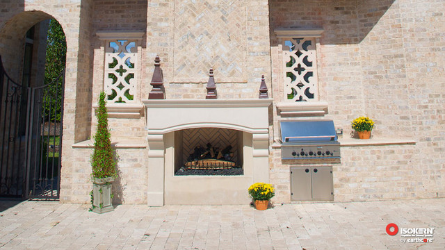 Isokern Fireplaces Traditional Patio Sacramento By