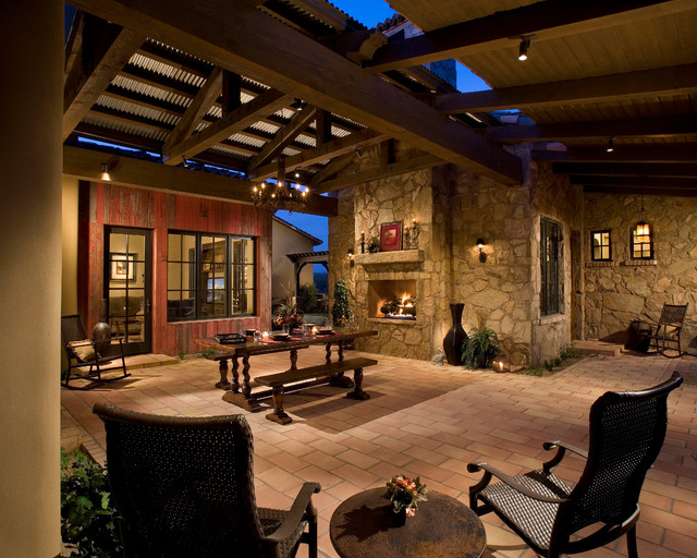 mediterranean patio phoenix by the phil nichols company