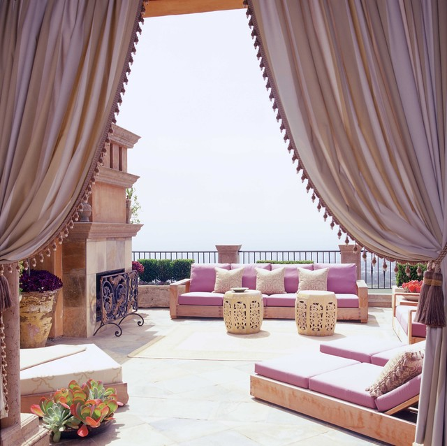 Italian Style in Newport Coast, California eclectic-patio