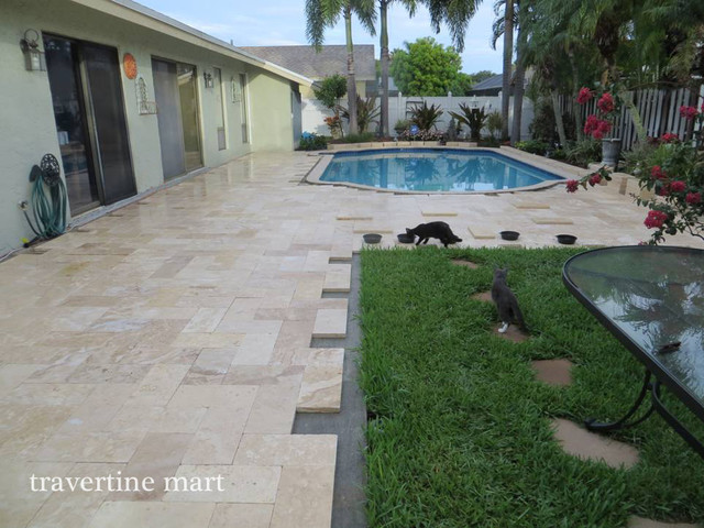 Example Of A Classic Patio Design In Miami