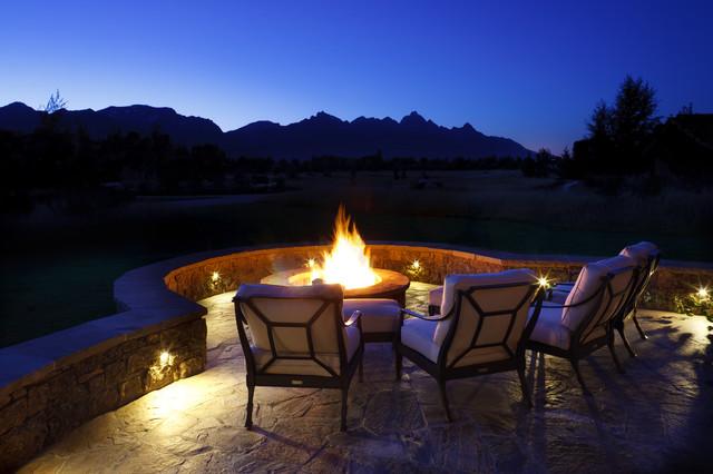 Jackson Hole Golf & Tennis rustic-patio
