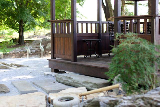 Japanese garden for Idee portico florida
