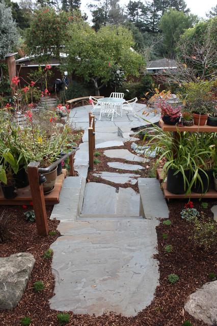 Japanese tea garden asian-patio
