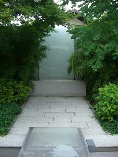japanischer gartenhof asiatisch patio m nchen von. Black Bedroom Furniture Sets. Home Design Ideas
