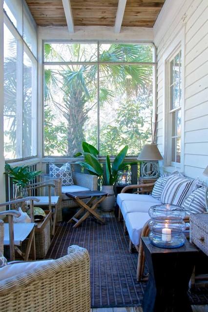 Julia Starr Sanford Amelia Island Fl Beach Style Patio Jacksonville By Pearl Home