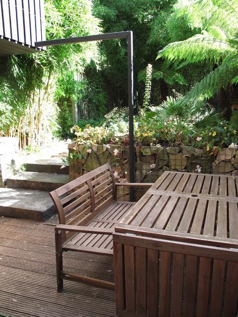 Jungle Backyard Ideas : Jungle Garden  Tropical  Patio  london  by Fenton Roberts Garden