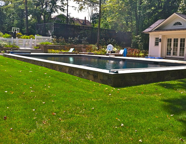 Just pools and water features!! eclectic-patio