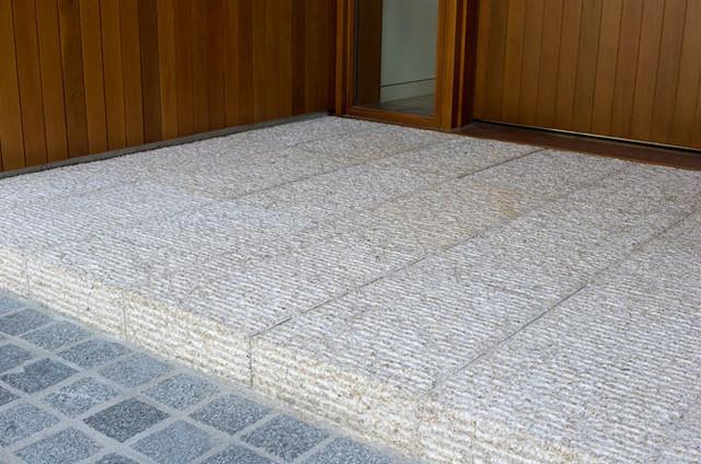 Kalahari Granite - Modern - Patio - Houston - by Maiden Stone Inc.