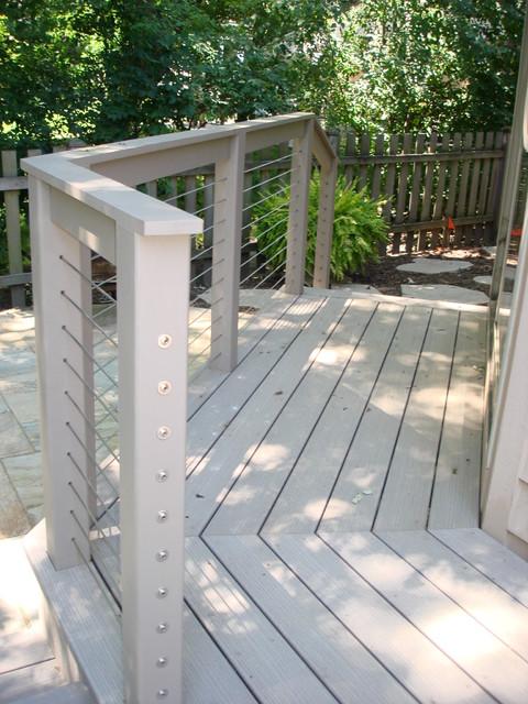 Karasch deck remodel for Garden decking fitters