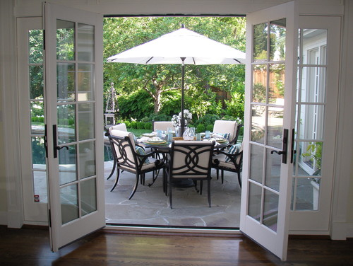 exterior wood french door 1