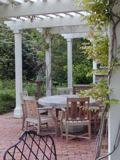 Kathleen Burke Design patio