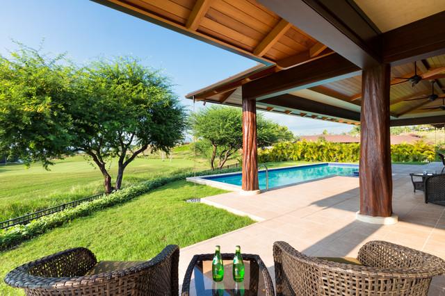 Kauna 39 oa hale tropical hawaii by david m sanders for David sanders home designs