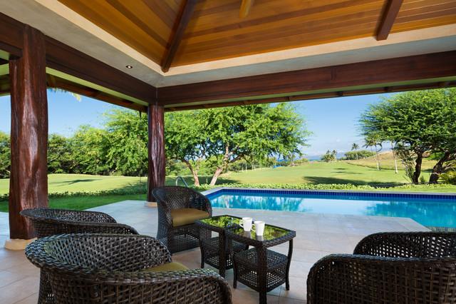 Kauna 39 oa hale tropical patio hawaii by david m for David sanders home designs