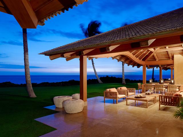 Kaupulehu Residence tropical-patio