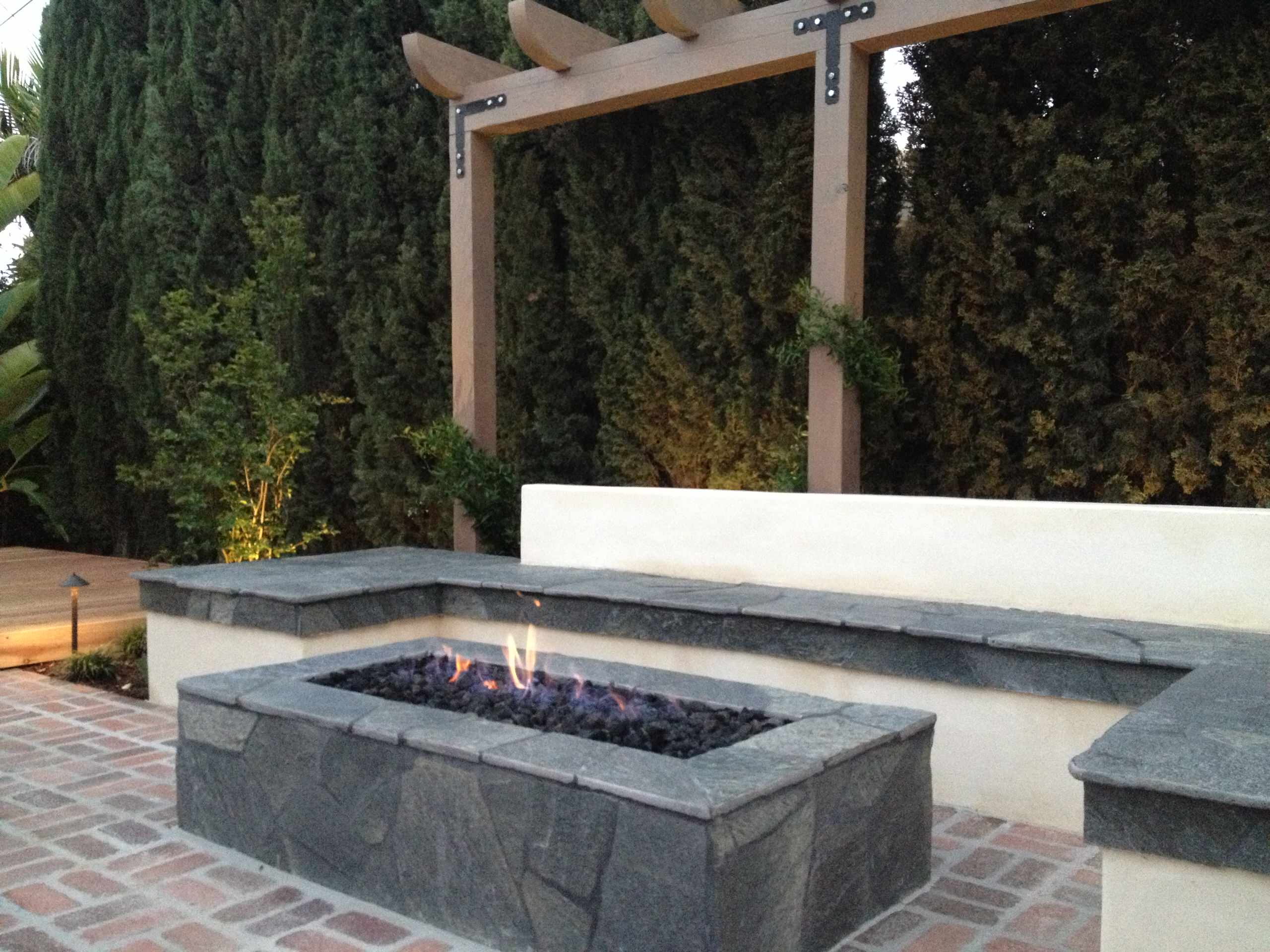 Kensington Outdoor Fire Pit Seating Lounge