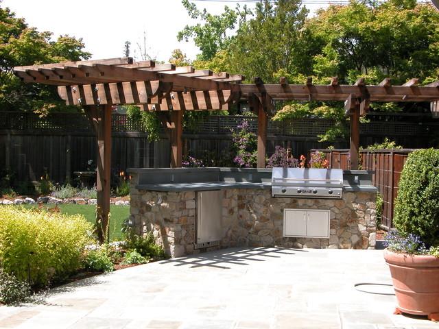 Kentfield Contemporary Garden contemporary-patio