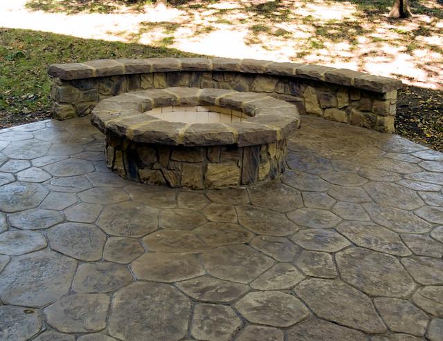 Kincaid - Stone Mason Work in Kansas City traditional-patio