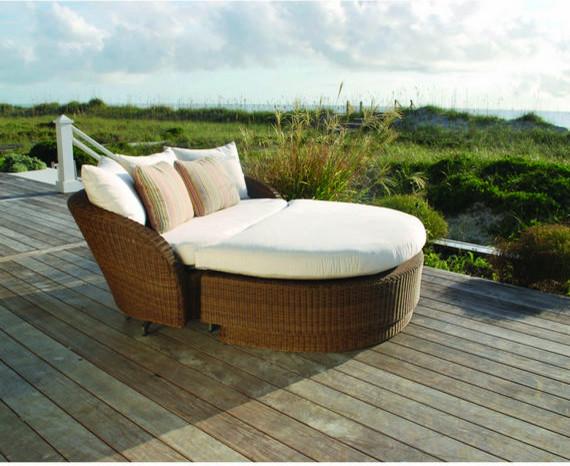 Kingsley Bate Carmel Wicker Outdoor Furniture Modern