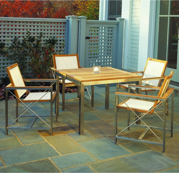 Kingsley Bate Tiburon Stainless Steel Outdoor Furniture