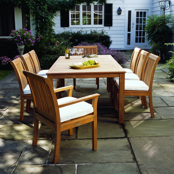 Kingsley Bate Wainscott Dining Table Traditional Patio Houston By Frontera Furniture