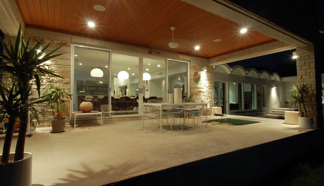 Knollwood Remodel Exterior Modern Patio Austin By Cornerstone Architects