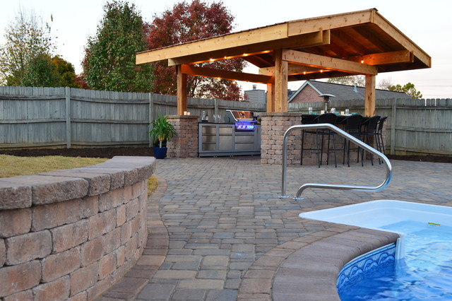 Knoxville Outdoor Living and Pool Mediterranean