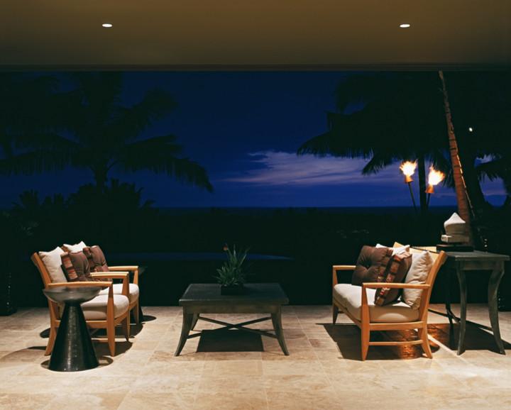 Immagine di un patio o portico design