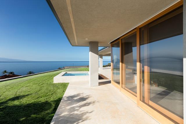 Kohala coast residence modern patio hawaii by for David sanders home designs