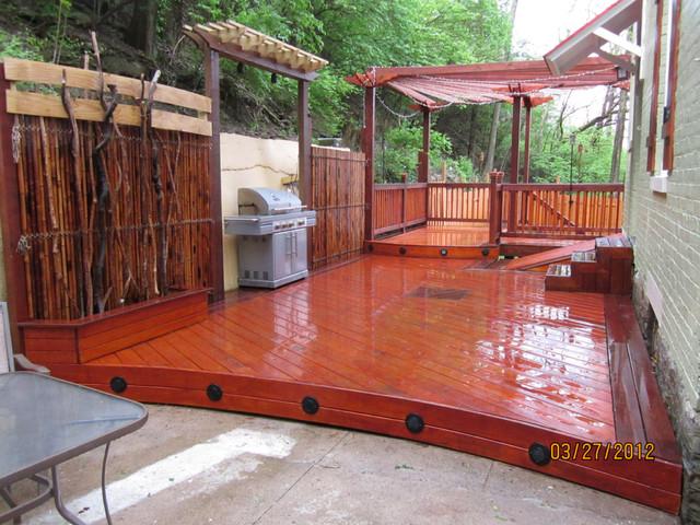 Koit Design Decking traditional-patio
